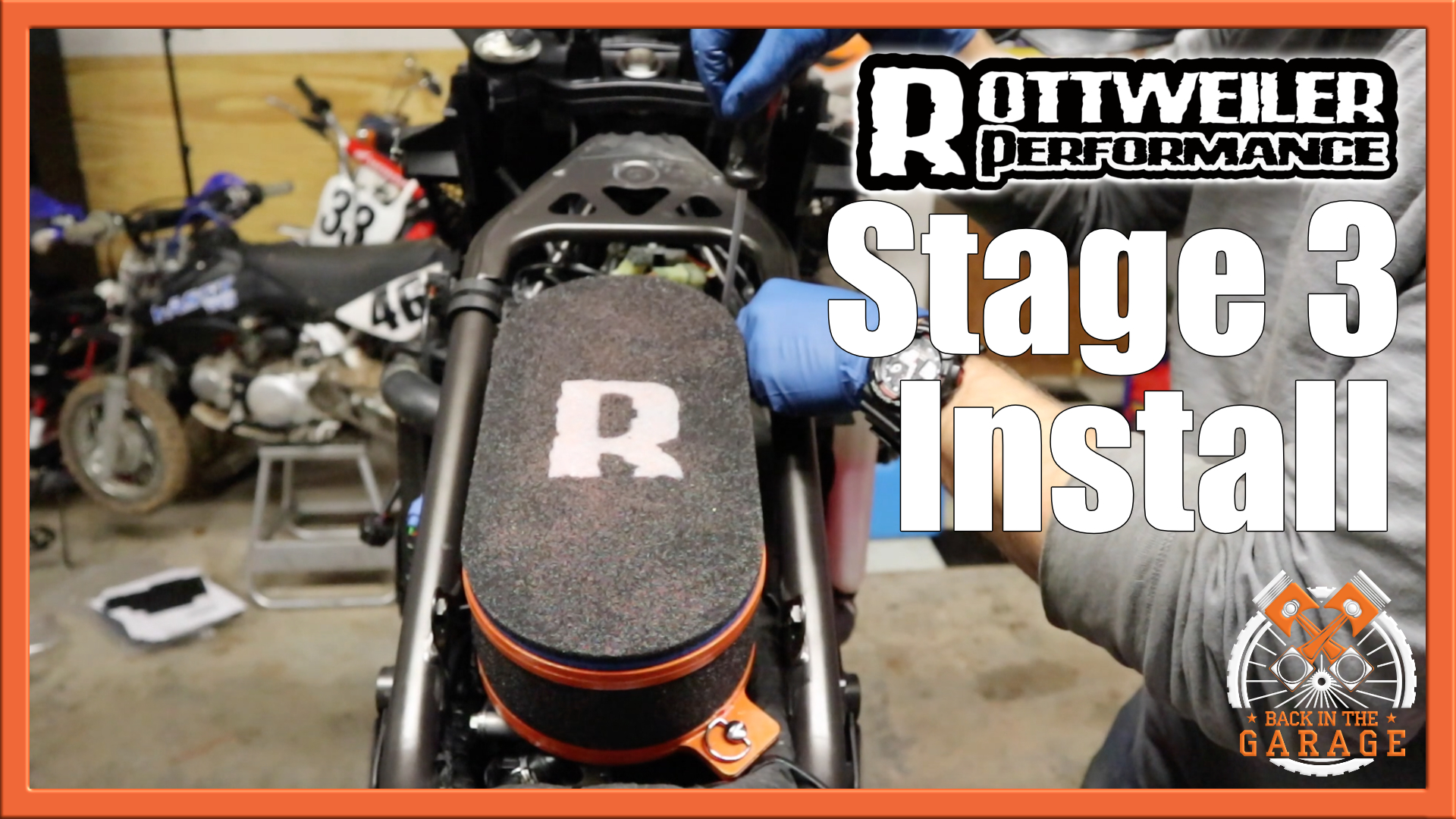 Rottweiler Stage 3 Air Box Install 1090 1190 1290 Ktm